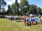 Uczestnicy turnieju podczas oficjalnego rozpoczęcia