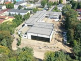 Budynek Zespołu Szkół Specjalnych w Dębicy z lotu ptaka